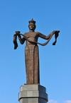 Фотография Скульптурная композиция Мать-Бурятия