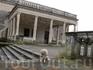 Руины вокзала в Гагре