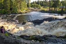 Водопад на реке Койриноя.