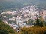 Вид на город с башни Диана