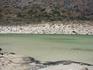 а это уже лагуна Балос. один из оттенков воды