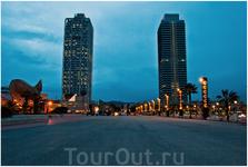43 -х этажные башни в Олимпийском порту