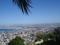 Хайфа. Город-порт. Здесь всё пропитано морским воздухом и тёплым солнышком.