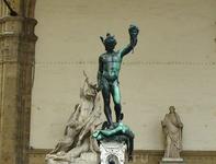 «Персей с головой Медузы» Бенвенуто Челлини в Лоджии Ланци