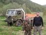 Инструктора внедорожных экспедиций по Саянам  Михаил Кунтенков и Андрей Китаев.