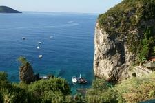 бухта бара La Grotta