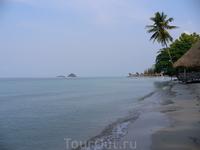 Такие пляжи на острове