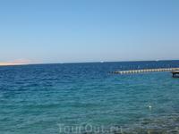 Вот оно красивое и прозрачное синее Красное море