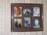 Стенды, посвященные жизни Ю.П.Рахманинова, его личные вещи в Кабинете-музее, расположенном в одной из комнат усадебного дома.