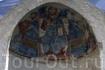Византийскя фреска. Остатки церкви Св. Захария.