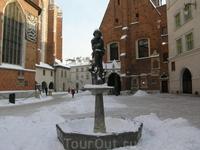 Памятник бедному студенту