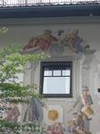 красочные дома-стиль Люфтельмалерай