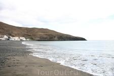черный пляж