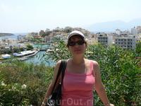Я в Агиос-Николаос