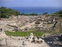 Руины Камироса. Виды с акрополя