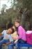 на озере в парке Форестье де Ан