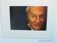 Портрет фотохудожника, Почетного гражданина г.Вологды Абрама Бама. Кудринский С.Ф.