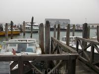 причал в Венеции