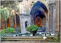 Внутренний дворик собора  Санта Мария. Валенсия.
