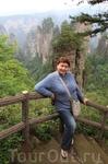На лесной тропинке в заповеднике