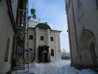 Мощи Св.Кирилла в церкви Св.Кирилла.