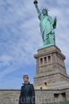 Статуя Свободы на острове Эллис