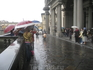 А дождь все идет. Турин