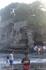 Бали/ храм на воде Танах Лот. Сейчас здесь отлив и видно скалы, до храма можно добраться в брод по воде.А в прилив вода поднимается до самого верха  и ...