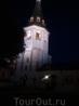 Монастырь вечером