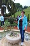 Хайфа. Бахайские сады. Аллеи, дорожки, фонтаны имеют идеальную форму. А растения (более 450 видов) подобраны таким образом, что цветение садов никогда ...