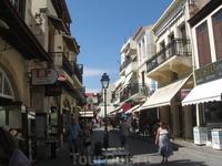 Жизнь кипит на улицах Ретимно