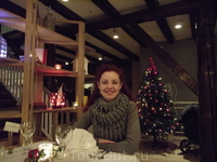 Рождественский ужин в ресторане