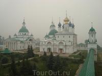 Спасо-Яковлевский Дмитриевский монастырь. Вид с колокольни.