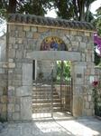 Ворота в монастыре Михольска превлака