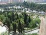 Малага. Алькасаба. Вид на парк