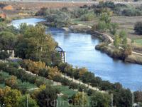 Вид на реку Тахо.