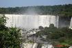 Водопады Игуасу. Бразильская сторона. Протяженность зоны водопадов 800 метров.