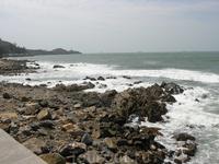 Берег моря.