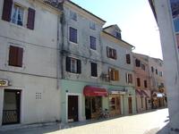 Старинные дома в исторической части города.