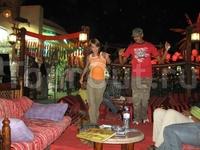 Египет, Шарм-Эль-Шейх, в кафешке в Наама-Бэй подрабатываю танцами:)))