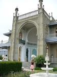 Воронцовский дворец с другой стороны