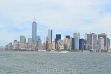 Вид на Манхэттон