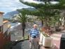 Канарские острова Остров Тенерифе. Вид на пляж г. Лос Кристианос