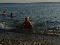 море там супер-вода чистейшая!