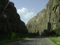 12 августа 2009. трасса Нораванк - Хор Вирап.