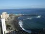 Пуэрто де ля Крус. Вид на побережье