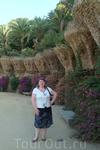 На аллее парка Гуэль
