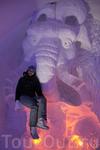 Ледниковый период, где ещё можно посидеть на бивнях мамонта!?