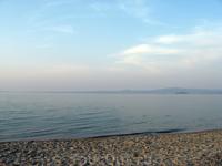 Начинается закат. Пляжи Касандры
