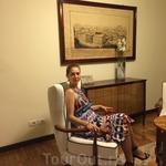 Старинные интерьеры и мебель отеля Grand Hotel CastroCarо Terme & Spa